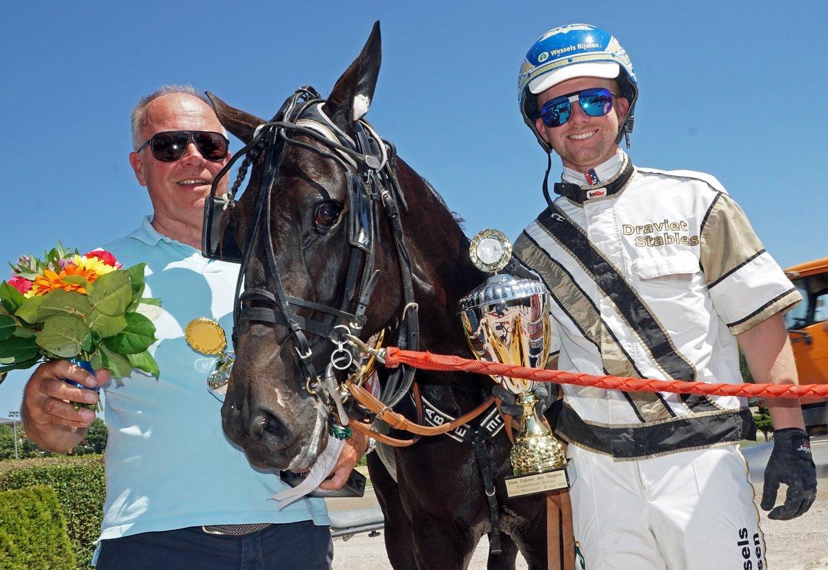 Buddenbrock Rennen prooi voor Juan les Pins